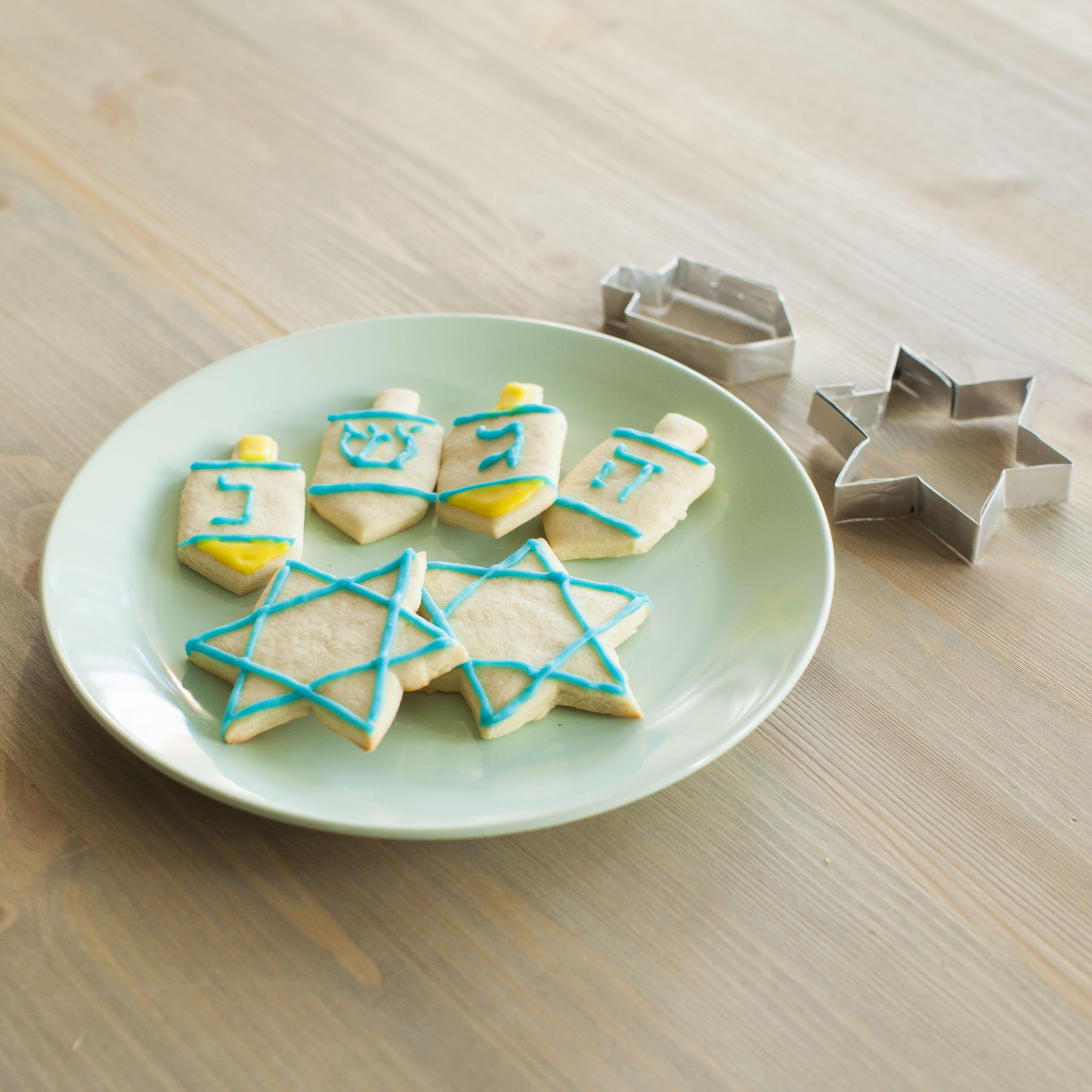 Homemade Hanukkah Cookies