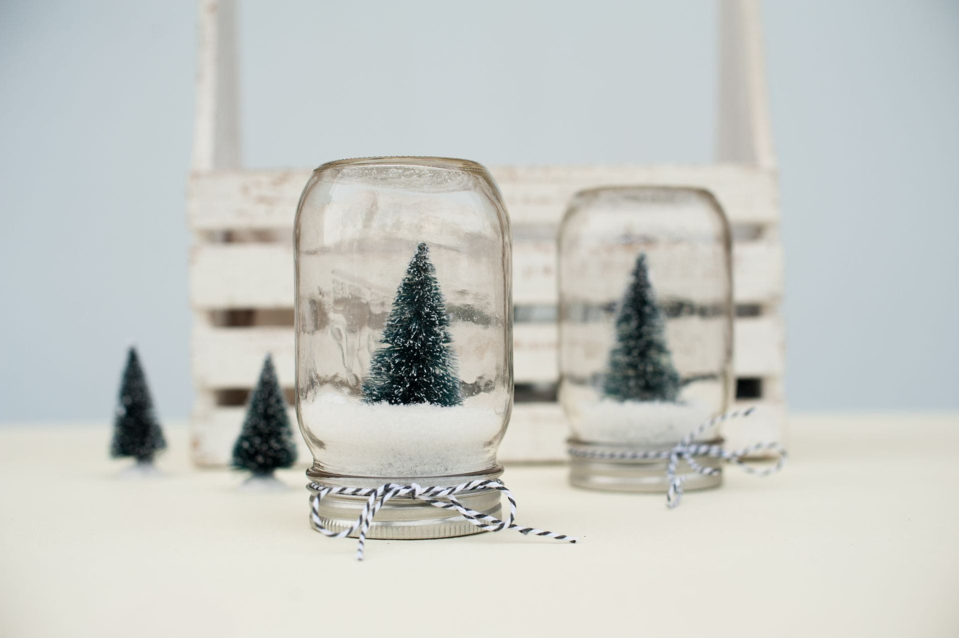DIY Snow Globe Completed