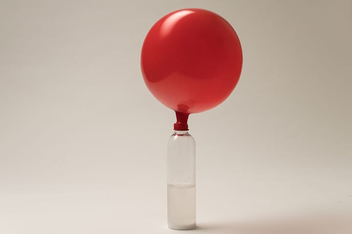 Preschool Science Activities: Self-inflating Balloon
