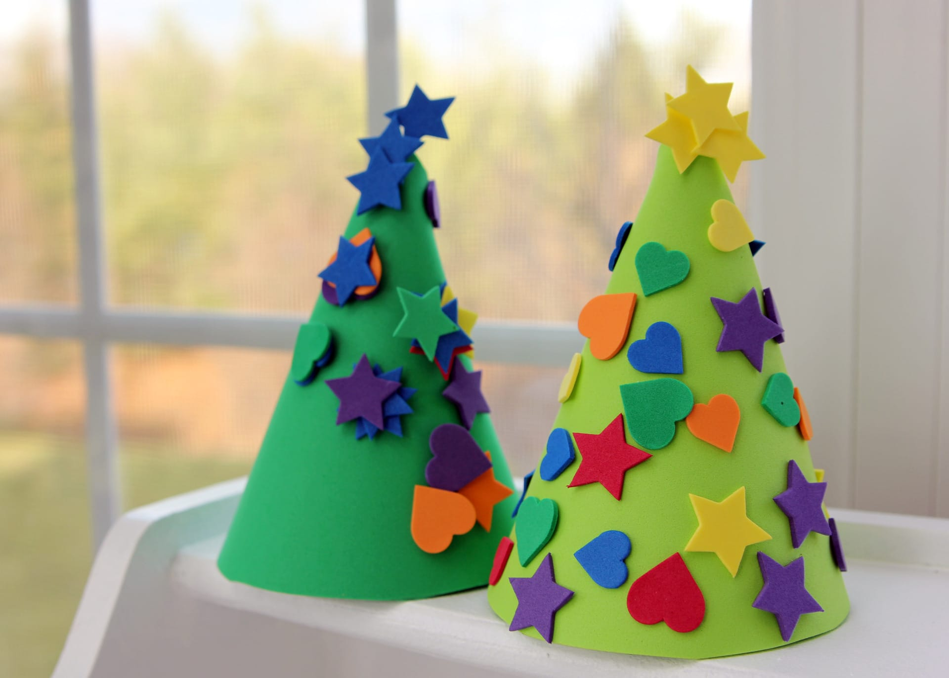 Foam Christmas Trees