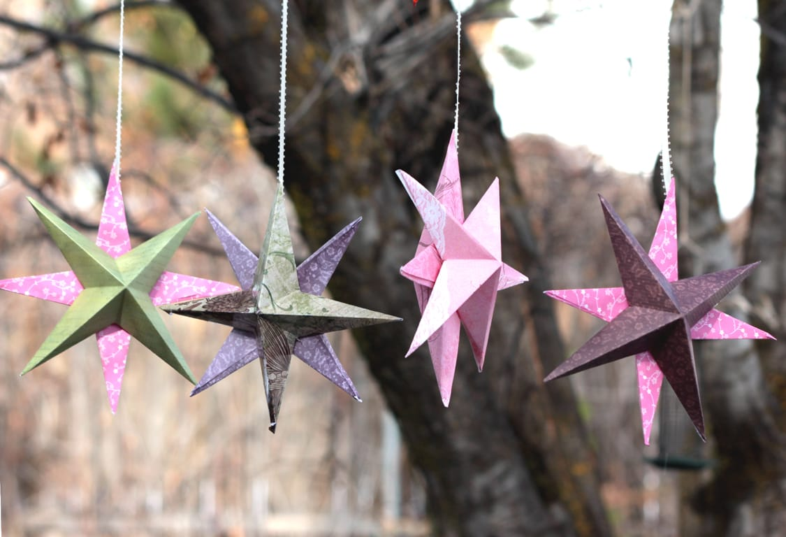8-pointed Star Holiday DIY